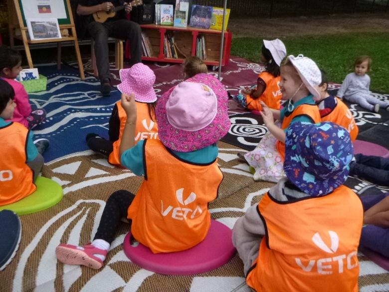 Pop up Library - Kuraby Early Learning Centre Program